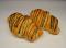 Croissant s čokoládovou polevou
